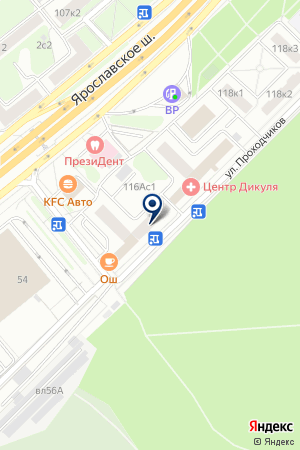 ОБЩЕЖИТИЕ на карте Москвы