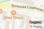 Схема проезда до компании buypen.ru в Москве
