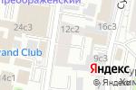 Схема проезда до компании Региональный отдел надзорной деятельности Главного Управления МЧС России по г. Москве в Москве