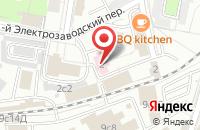 Схема проезда до компании Тэнип в Москве