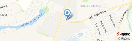 Автомойка на карте государственного племенного завода