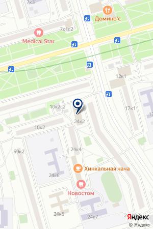 ДК МОСКОВСКИЕ ОКНА на карте Москвы