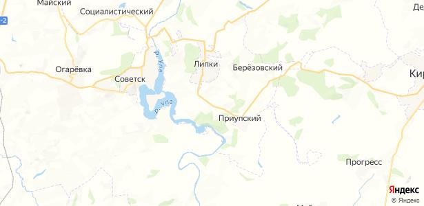 Шахты-8 на карте