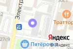 Схема проезда до компании Московская фабрика ортопедической обуви в Москве