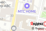 Схема проезда до компании Clive Christian в Москве