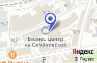 Схема проезда до компании МЕБЕЛЬНАЯ КОМПАНИЯ SKYLAND в Москве