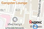 Схема проезда до компании Мега транслэйт груп в Москве