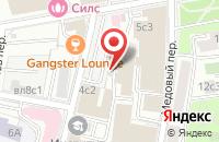 Схема проезда до компании ПромСитиГрупп в Москве