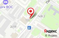 Схема проезда до компании Иксолит в Москве