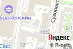 Схема проезда до компании АПК в Москве