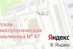Схема проезда до компании Блеск в Москве