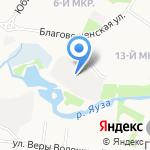 Гаражно-строительный потребительский кооператив №39 на карте Мытищ