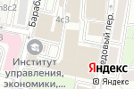 Схема проезда до компании Gentlemen в Москве