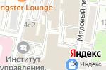 Схема проезда до компании Портрет в Москве