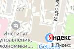Схема проезда до компании Разумный Путь в Москве