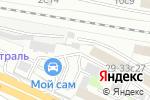Схема проезда до компании Нановент в Москве