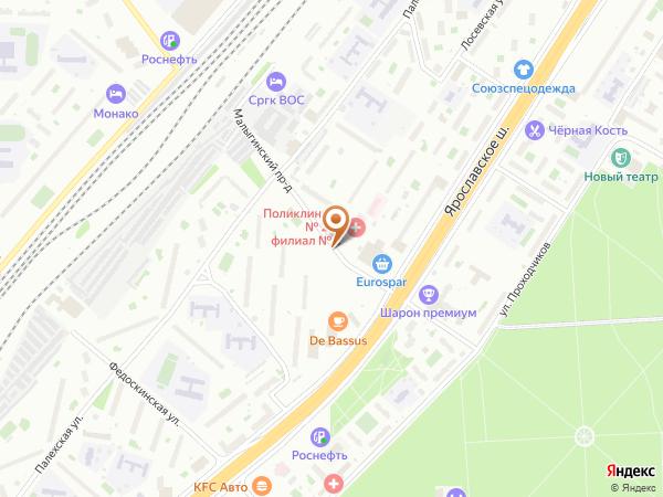 Остановка «Молодёжный центр», Малыгинский проезд (1001086) (Москва)