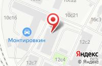 Схема проезда до компании Алгоритм Груп в Москве