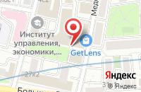 Схема проезда до компании Радамир М в Москве