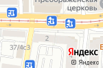 Схема проезда до компании Манави в Москве