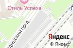 Схема проезда до компании Фогус в Москве