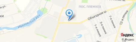 Краски.ру на карте государственного племенного завода