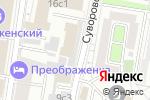 Схема проезда до компании Легион Консалтинг в Москве