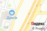 Схема проезда до компании Эльвина в Москве