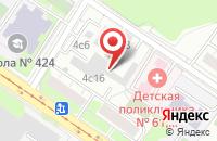 Схема проезда до компании Финстройгрупп в Москве
