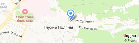 Гаражный кооператив №23 на карте Глухих Полян