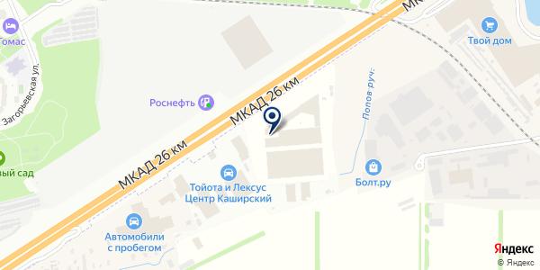 Краски.ru на карте Москве