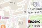Схема проезда до компании Право на Рекламу в Москве