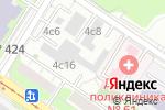 Схема проезда до компании Танерино ДМ в Москве