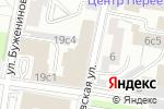 Схема проезда до компании MamaNonStop в Москве