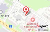 Схема проезда до компании Чёрный Слон Рпк в Москве