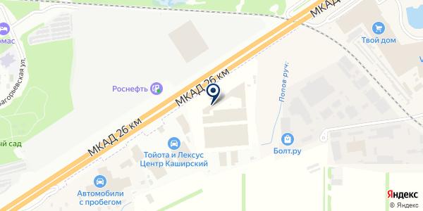 ОлимпПаркета на карте Москве
