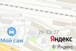 Схема проезда до компании МеталлГрупп в Москве