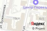 Схема проезда до компании Кот Бегемот в Москве