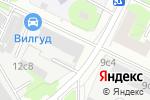 Схема проезда до компании АГРОИНКОМБАНК в Москве