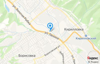 Местоположение на карте пункта техосмотра по адресу Краснодарский край, г Новороссийск, с Цемдолина, ул Промышленная, д 3А
