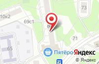 Схема проезда до компании Люксграндстрой в Москве