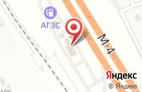 Схема проезда до компании Комплекс-юг в Калиновке