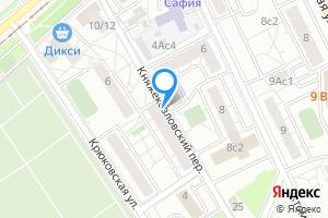 Снять однокомнатную квартиру в Москве м. Электрозаводская, Княжекозловский переулок