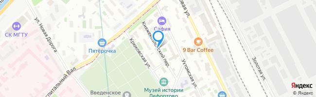 Княжекозловский переулок