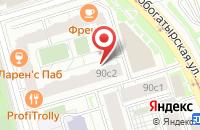 Схема проезда до компании Альберго в Москве