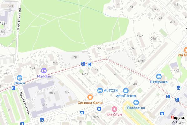 Ремонт телевизоров Погонный проезд на яндекс карте