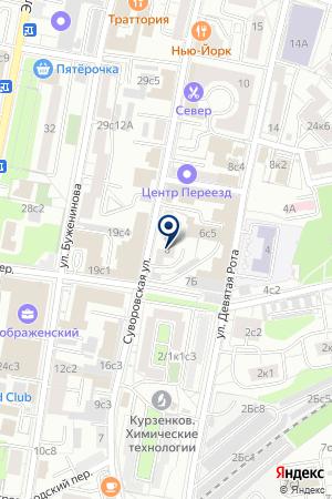 ИНФОРМАЦИОННОЕ АГЕНТСТВО ФИНМАРКЕТ на карте Москвы