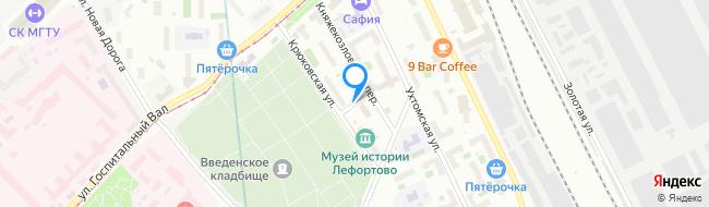Ухтомский переулок