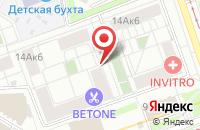 Схема проезда до компании Принт Линекс в Москве