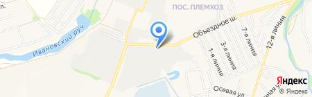 АЗС Трассойл на карте государственного племенного завода